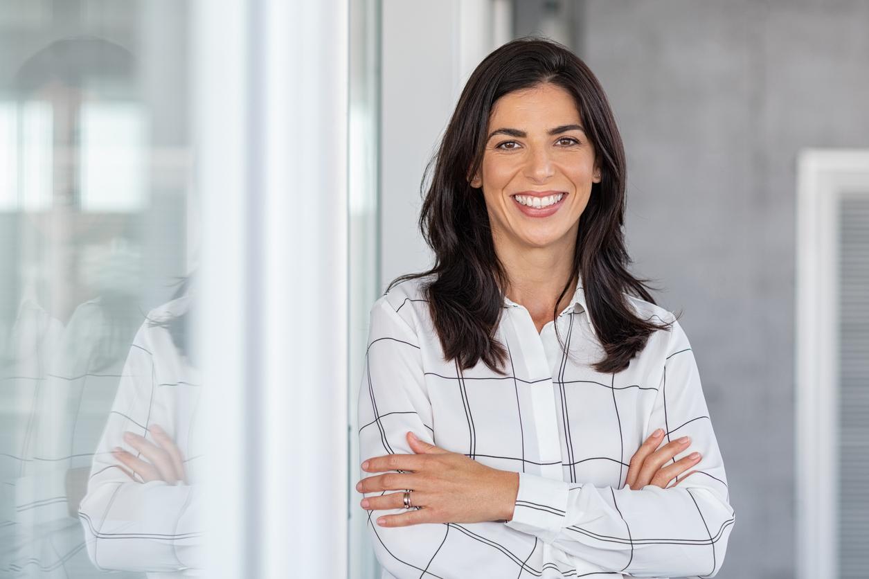 Successful mature business woman