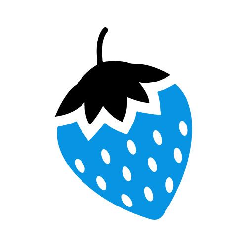 Blue Strawberry Logo | Trade Mark