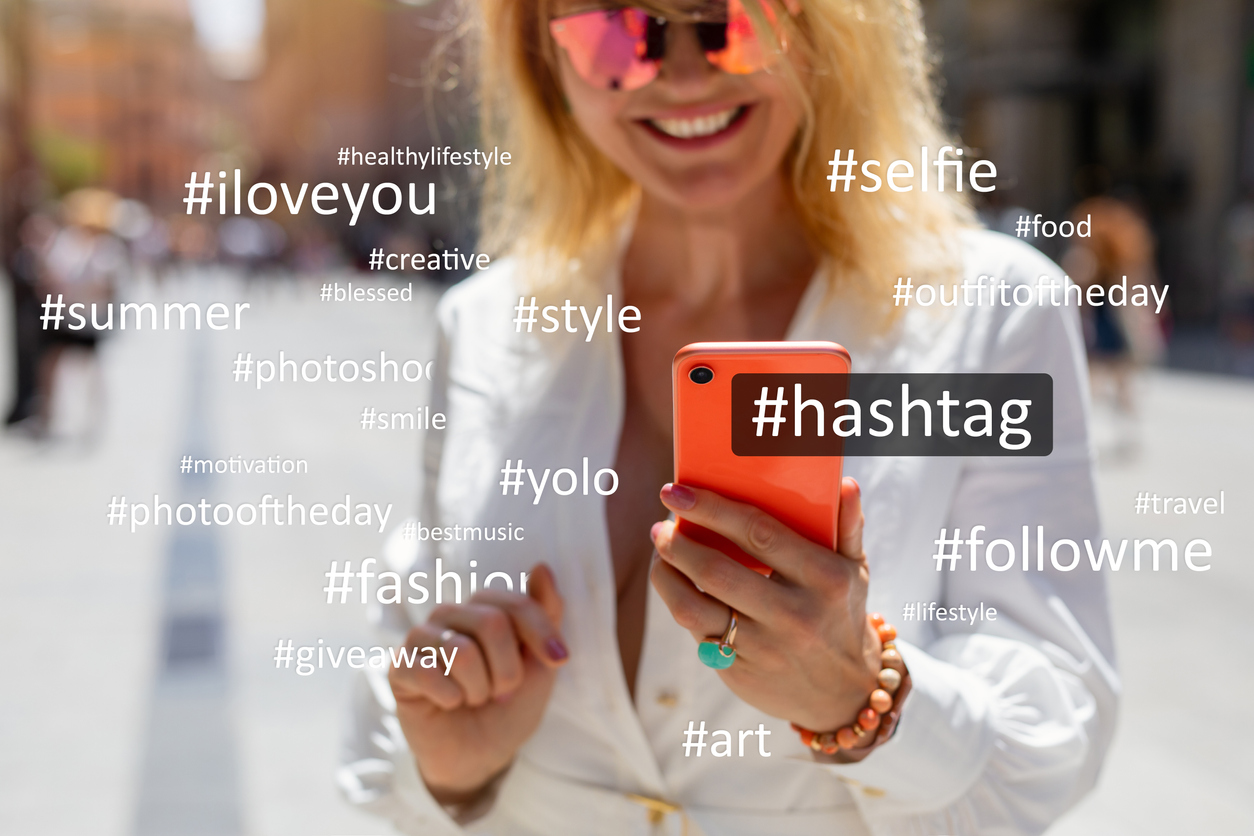 Should be using hashtags
